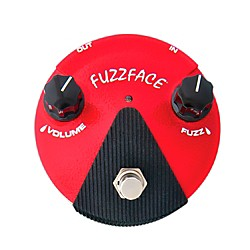 Dunlop Germanium Fuzz Face Mini Red Guitar Effects Pedal (FFM2)