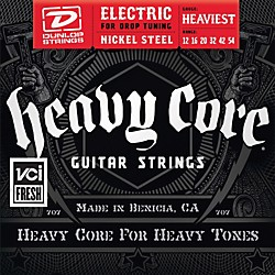 Dunlop Heavy Core Electric Guitar Strings - Heaviest Gauge (DHCN1254)