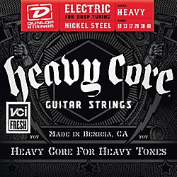 Dunlop Heavy Core Electric Guitar Strings - Heavy Gauge (DHCN1048)