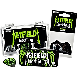 Dunlop Hetfield Black Fang Pick Tin - 6 Pack (PH112T.73)