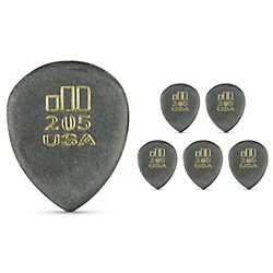 Dunlop JD JazzTone 205 Guitar Picks 6-Pack (477P205)