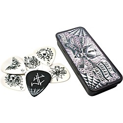 Dunlop James Hetfield Pick Tin with 6 Picks (JPH01T088)