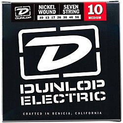 Dunlop NPS 7-string Electric Guitar Strings (10-56) (DEN1056)