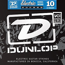 Dunlop Nickel Plated Steel Electric Guitar Strings - Light Top Heavy Bottom 10's (DEN1052)