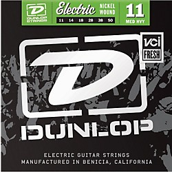 Dunlop Nickel Plated Steel Electric Guitar Strings - Medium Heavy (DEN1150)