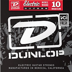 Dunlop Nickel Plated Steel Electric Guitar Strings - Medium (DEN1046)