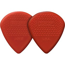 Dunlop Nylon Max Grip Jazz III Guitar Picks 6-Pack (471P3N)