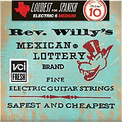 Dunlop Reverend Willy's Electric Guitar String Set - Medium (RWN1046)