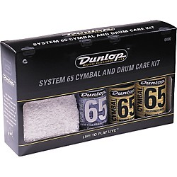 Dunlop System 65 Cymbal and Drum Care Kit (6400)