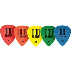 Dunlop Tortex T3 Sharp Tip Guitar Picks 72-Pack (462R.88)