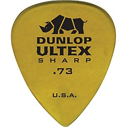 Dunlop Ultex Sharp Picks - 6 Pack (433P.73)
