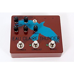 Dwarfcraft Eau Claire Thunder Fuzz Guitar Effects Pedal (USED005002 ECT)