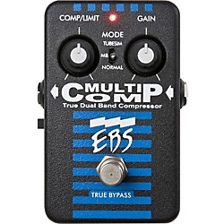 EBS MultiComp True Dual Band Compressor Pedal (USED004000 MultiComp)