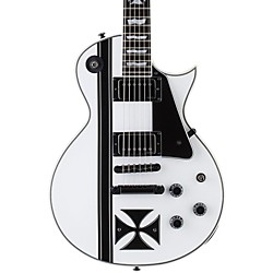 ESP LTD James Hetfield Signature Iron Cross Electric Guitar (LIRONCROSSSW)
