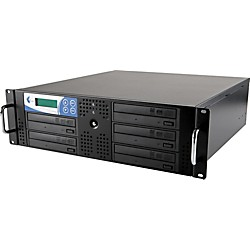 EZ Dupe 5 Target Rack DVD and CD Rack Mount Duplication System (USED004000 RK5TDVDSAMB)