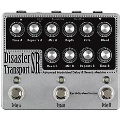Earthquaker Devices Disaster Transport SR Advanced  Modulated Delay & Reverb Guitar Effects Pedal (USED004000 EQDDTSR)