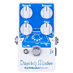 Earthquaker Devices Dispatch Master Delay and Reverb Guitar Effects Pedal (USED004000 EQDDISP)