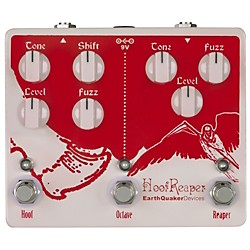 Earthquaker Devices Hoof Reaper Octave Fuzz Spectacular Guitar Effects Pedal (USED004000 EQDHFRP)