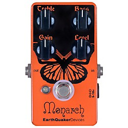 Earthquaker Devices Monarch Overdrive Guitar Effects Pedal (USED004000 EQDMONA)