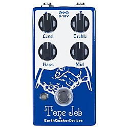Earthquaker Devices Tone Job EQ and Boost Guitar Effects Pedal (USED004000 EQDTOJO)