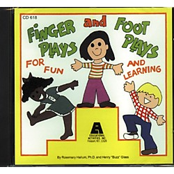 Educational Activities Fingerplays and Footplays (CD 618)