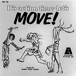 Educational Activities It's Action Time Let's Move (CD 79)