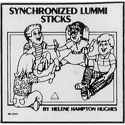 Educational Activities Synchronized Lummi Sticks (CD104)