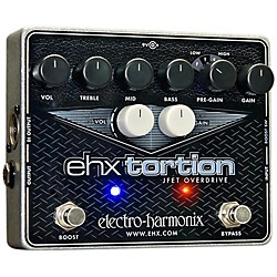 Electro-Harmonix EHXTortion JFET Overdrive Guitar Effects Pedal (EHX Tortion)