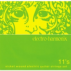 Electro-Harmonix NIC11 Nickel Wound Medium Electric Guitar Strings (NIC11)