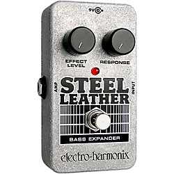 Electro-Harmonix Nano Steel Leather Bass Expander Effect Pedal (USED004000 NANOSTEELLEATH)