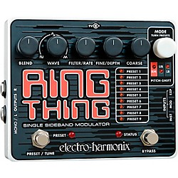 Electro-Harmonix Ring Thing Modulator Guitar Effects Pedal (USED004000 RINGTHING)