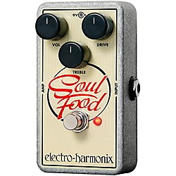 Electro-Harmonix Soul Food Overdrive Guitar Effects Pedal (USED004000 Soul Food)