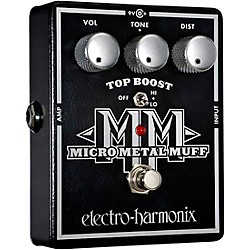 Electro-Harmonix XO Micro Metal Muff Distortion Guitar Effects Pedal (XOMICROMETLMUFF USED)