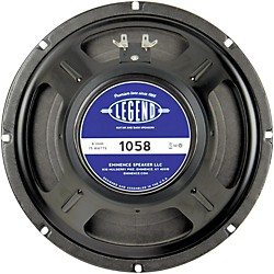 Eminence Legend 1058 10 In Guitar Speaker (LEGEND 1058)