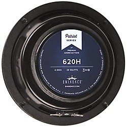 "Eminence Patriot 620H 6"" 20w Guitar Speaker Hemp Cone (620H)"