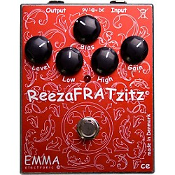 Emma Electronic ReezaFRATZzitz II Overdrive and Distortion Guitar Effects Pedal (USED004000 RF-2)