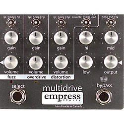 Empress Effects Multidrive Overdrive Guitar Effects Pedal (USED004000 Multidrive)