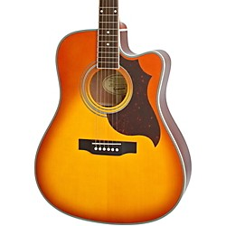 Epiphone FT-350SCE Acoustic-Electric Guitar with Min-Etune (EEATVBNH1)