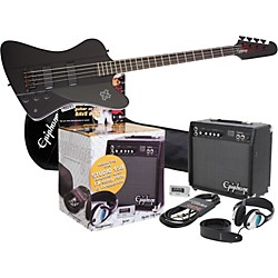 Epiphone Goth Thunderbird IV All Access Bass Pack (KIT-515768)