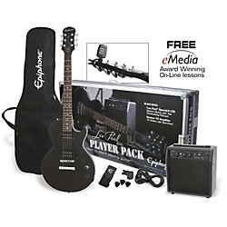 Epiphone Les Paul Electric Guitar Player Pack (PPEG-EGL1EBCH1)