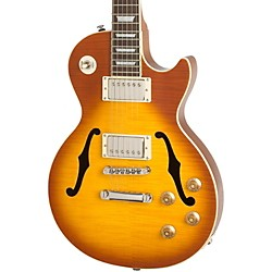 Epiphone Les Paul Standard Florentine PRO Hollowbody Electric Guitar (USED004000 ENFSHBNH3)