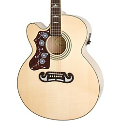 Epiphone Limited Edition EJ-200SCE Left-Handed Acoustic-Electric Guitar (EEJ4LNAGH3)