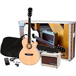 Epiphone PR-4E Acoustic-Electric Guitar Player Pack (PPGR-EEP4NACH1)