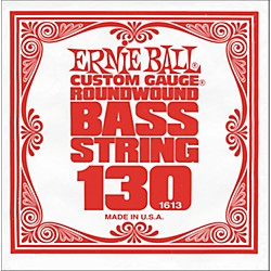 Ernie Ball 1613 Single Bass Guitar String (1613)