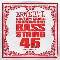 Ernie Ball 1645 Single Bass Guitar String (1645)