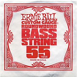 Ernie Ball 1655 Single Bass Guitar String (1655)