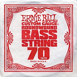 Ernie Ball 1670 Single Bass Guitar String (1670)