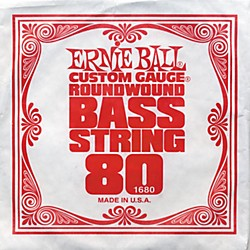 Ernie Ball 1680 Single Bass Guitar String (1680)