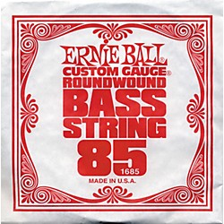 Ernie Ball 1685 Single Bass Guitar String (1685)