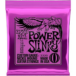 Ernie Ball 2220 Power Slinky Nickel Electric Guitar Strings (P02220)